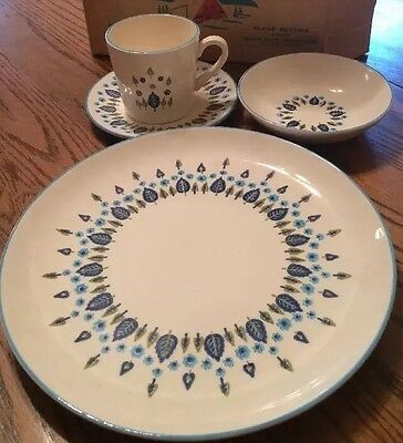 Marcrest Alpine Mid Century Swiss Chalet Alpine 4pc Set