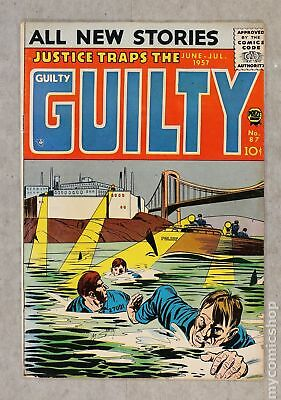 Justice Traps the Guilty (1947) #87 VG 4.0