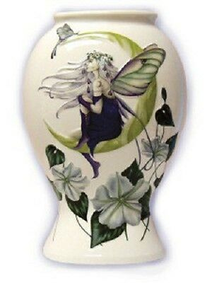 Moon Flower Fairy Large Vase - Jessica Galbreth Fairysite