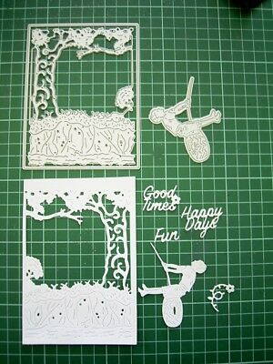 Words + Frame GAZING AT THE COUNTRYSIDE DIE TLD0395 Tattered Lace