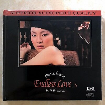 Yao Siting 姚斯婷 Eternal Singing Endless Love IV DSD CD 妙音唱片 Audiophile Vocal