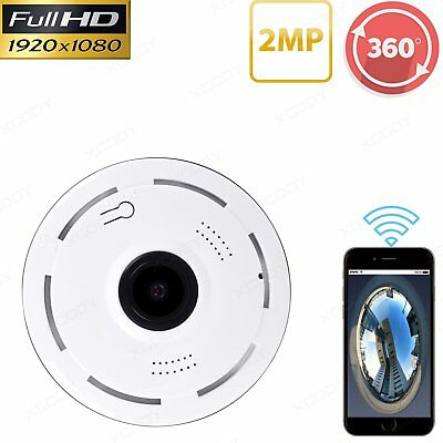 Panoramic Security CCTV Camera HD 1080P Dome 360 Degree Fisheye IP Camera mini