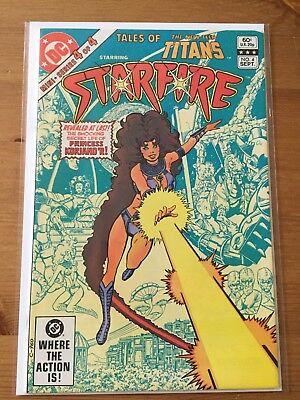Tales of the New Teen Titans 4 featuring Starfire VF+ DC Comics