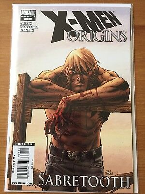 X-Men Origins Sabretooth 1 NM- 2009 one shot