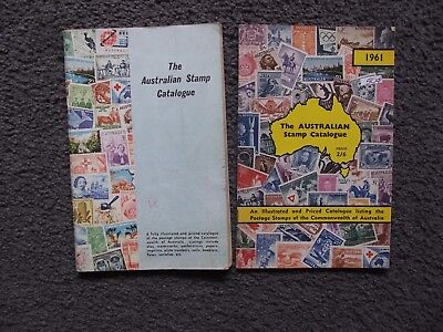 The Australian Stamp Catalogues 1961 & 1966