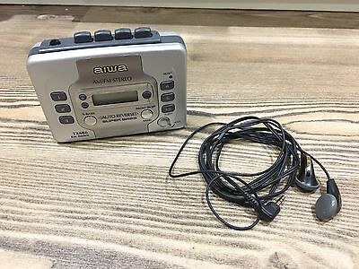 AIWA TX486 Radio Cassette Player Tape,Auto Reverse,Super Bass *GREAT SOUND*