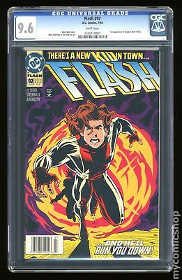 Flash (1987 2nd Series) #92A CGC 9.6 1345410007