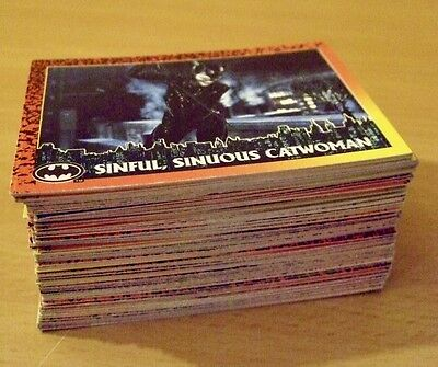 Batman Trading Cards