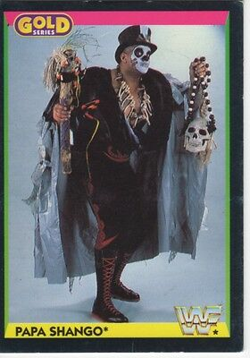 WWF  TRADING CARDS GOLD SERIES PAPA SHANGO No. 93