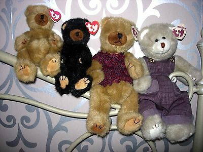 TY ATTIC BEARS - CODY, IVAN, CLYDE, CHARLES, DICKENS and PRECIOUS **read below**