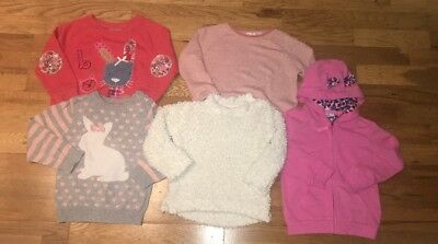 Next, Zara And Marks And Spencer Jumper Bundle Age 2-3 Years