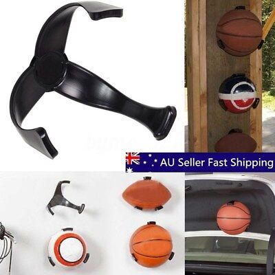 4x Practical Ball Claw Basketball Hand Holder Wall Mount Display Case Organizer