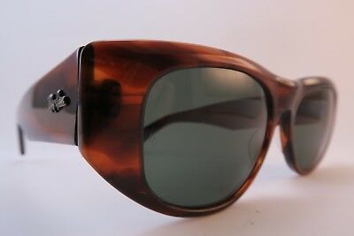 Vintage B&L Ray Ban Dekko sunglasses acetate etched lens made in the USA