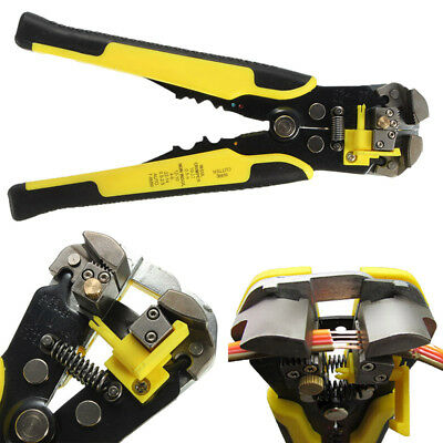 Automatic Cable Wire Stripping Crimping Terminal Tool Peeling Pliers Accessory