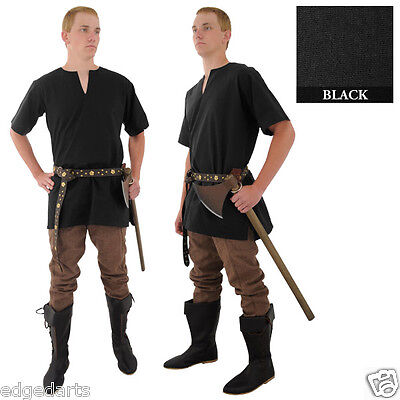 Half Sleeved Medieval Tunic - shirt - Reenactment, Larp, Fancy Dress and Cosplay
