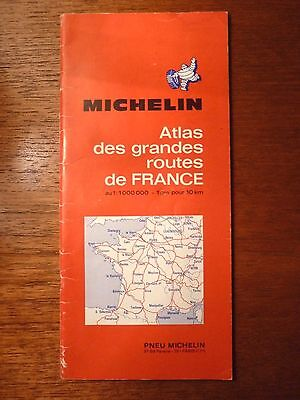2 Atlas Des Grandes Routes De France 1970 + 1971 Rare