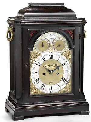 Fine Georgian Bracket Clock