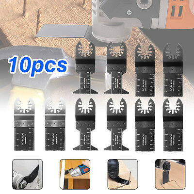 10x Mix Oscillante Lame de Scie Multifonction Multitool pour Fein Black & Decker