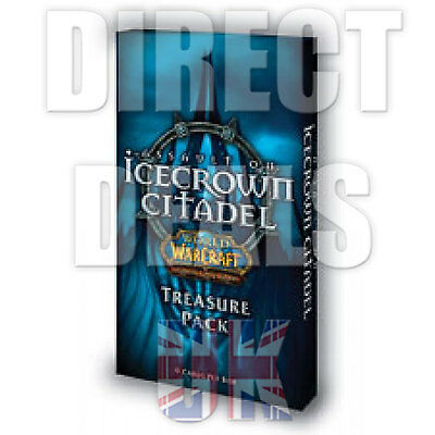 WOW TCG - World of Warcraft - Icecrown Citadel - Treasure Pack LOOT ? - FREE P+P