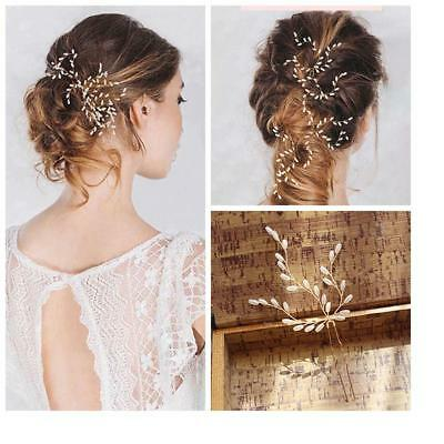 3pcs/Set Woman Bridal Hair Pins Pearls Hairpins Wedding Birthday Headpieces
