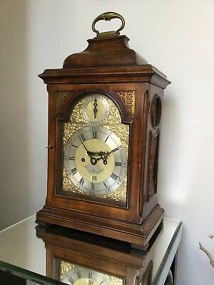 Pretty Georgian London Twin Fusee Bracket Clock