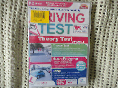 Driving Test - Theory Test Express (PC; Windows, 2013) NEW Shrink Wrap B32