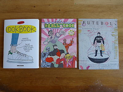 Lot 3 Bd Albums Graphiques Eo Salch Lookbook Pochep Dreescode Futebol Pagni Tbe
