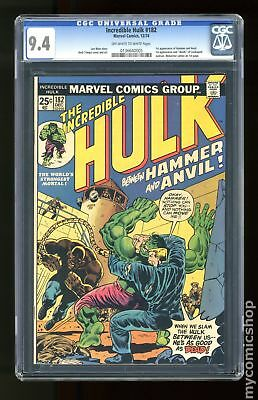 Incredible Hulk (1962-1999 1st Series) #182 CGC 9.4 0136640005