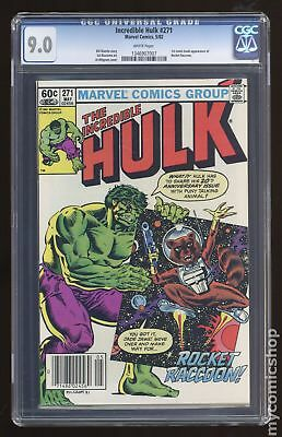 Incredible Hulk (1962-1999 1st Series) #271 CGC 9.0 1346907007