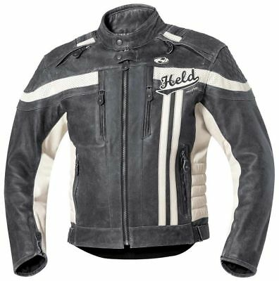 Held Harvey 76 Retro Lederjacke