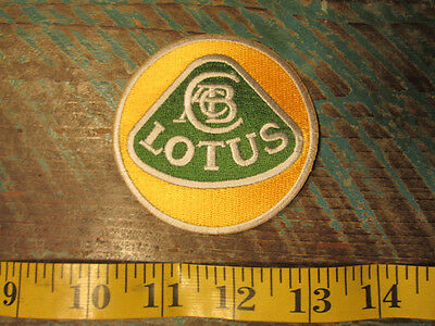 LOTUS TEAM RACING PATCH NEW 3in EVORA 400 RANGE ELISE SPORT EXIGE 3 ELEVEN SUPER