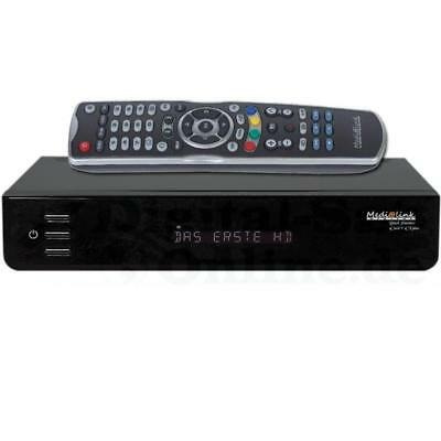 ► Medialink Black Panther 1xCX 1xCI Plus HD LAN USB DVB-C Kabelreceiver