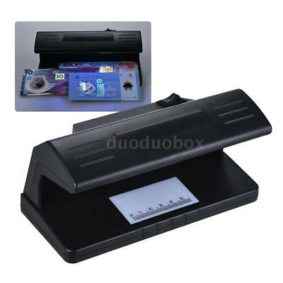 UV Counterfeit Bill Detector Forged Money Tester Fake Polymer Bank Note Checker