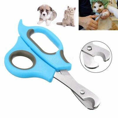 Dog Pet Cat Kitten Nail Toe Claw Clippers Scissors Trimmer Shear Cutter Grooming