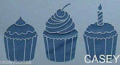 Dreamweaver Embossing Stencil - Cupcakes - New