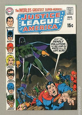 Justice League of America (1960 1st Series) #79 VF+ 8.5