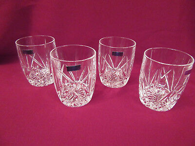 Marquis by Waterford Crystal Double Old Fashioned Glass Set, Brookside, 4 in Box