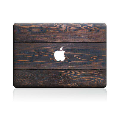 Walnut Wood Grain Pattern Sticker Laptop MAC Decal for Macbook Pro Air Retina