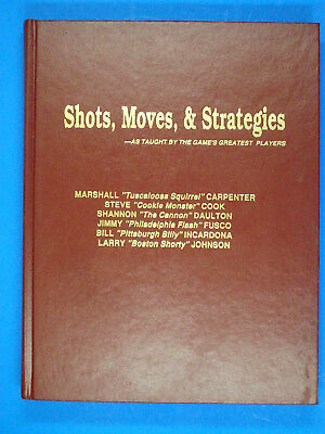 SHOTS, MOVES, & STRATEGIES (COLLECTIBLE)  By Eddie Robin, hardcover