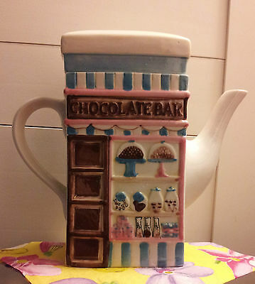 Msrf Inc. Double-Sided Teapot: Chocolate Bar/cupcakes!!!