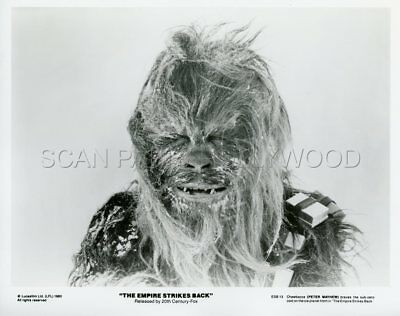 Chewbacca  Star Wars The Empire Strikes Back 1980 Vintage Photo #9