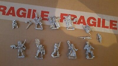 Necromunda Fanatic Hired Guns Bounter Hunters Complete Collection Warhammer