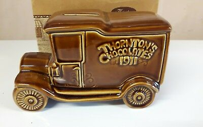 Vintage Wade Money Box Thorntons Chocolates With Box Pre-Owned