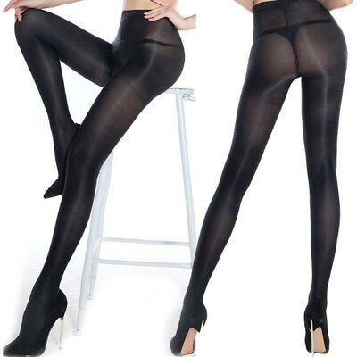 Women's Shiny Tights 70D Pantyhose High Gloss Dancer Shaping Uniform Stockings