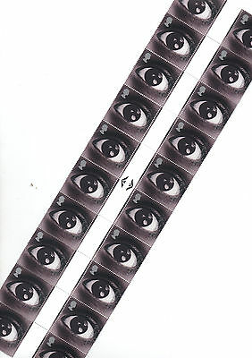 GB 2000 'EYE' Sound & Vision Stamp. Block of 10 GUTTER PAIRS - 20 stamps. Mint