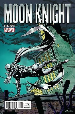 Moon Knight #6 Marvel Comics 2016 Bob Hall 1:15 Classic Variant Cover Comic Book