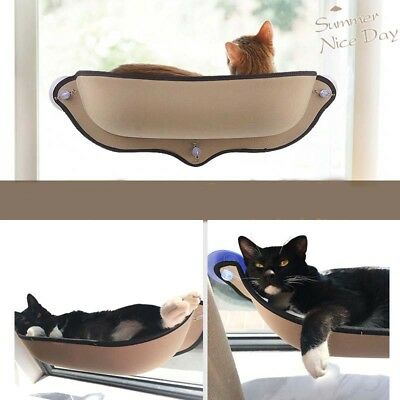 Cat Window Sunbathing Bed Hammock Lounger Sofa with Suction cup for home and car