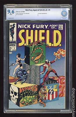 Nick Fury Agent of SHIELD (1968 1st Series) #1 CBCS 9.6