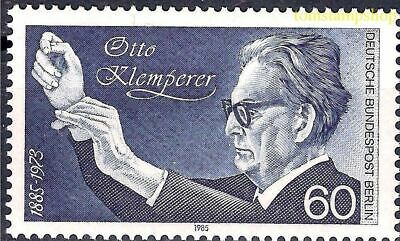 Germany B 1985 Otto Klemperer/Music Conductor Orchestra People 1v MNH