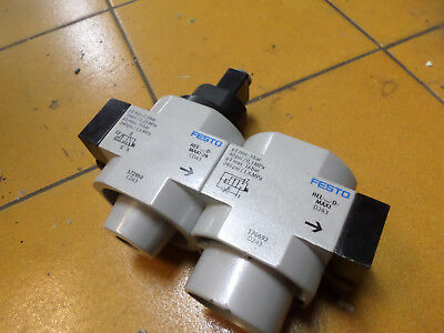 Festo  Soft Start Valves + Solenoid On/off Valve Hee-D-Maxi-24 -- Hel-D-Maxi